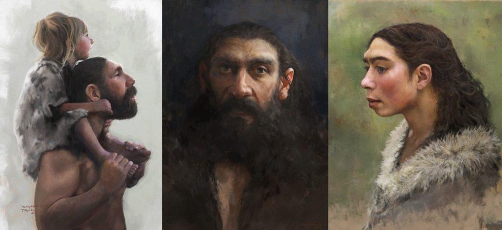 Evolution of consciousness - Tom Björklund paintings