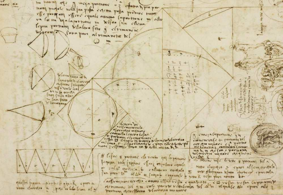 Thinking in Maps - Visual notes by Leonardo Da Vinci