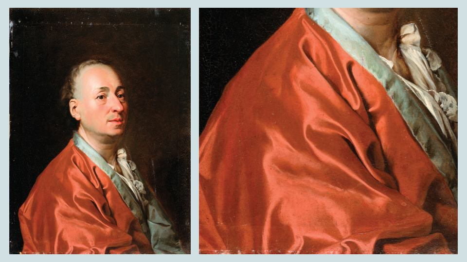The Diderot Effect - Diderot and his scarlet robe