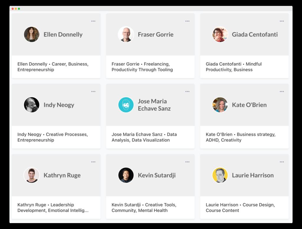 Ness Labs Coaching Directory - Screenshot