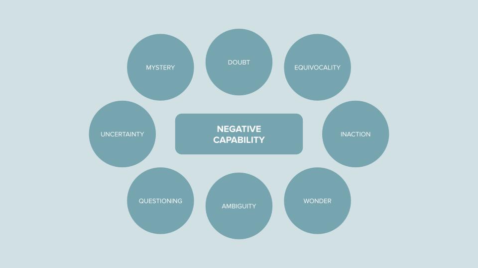 8 ways to practice negative capability