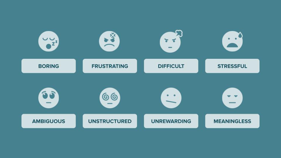 The eight procrastination triggers