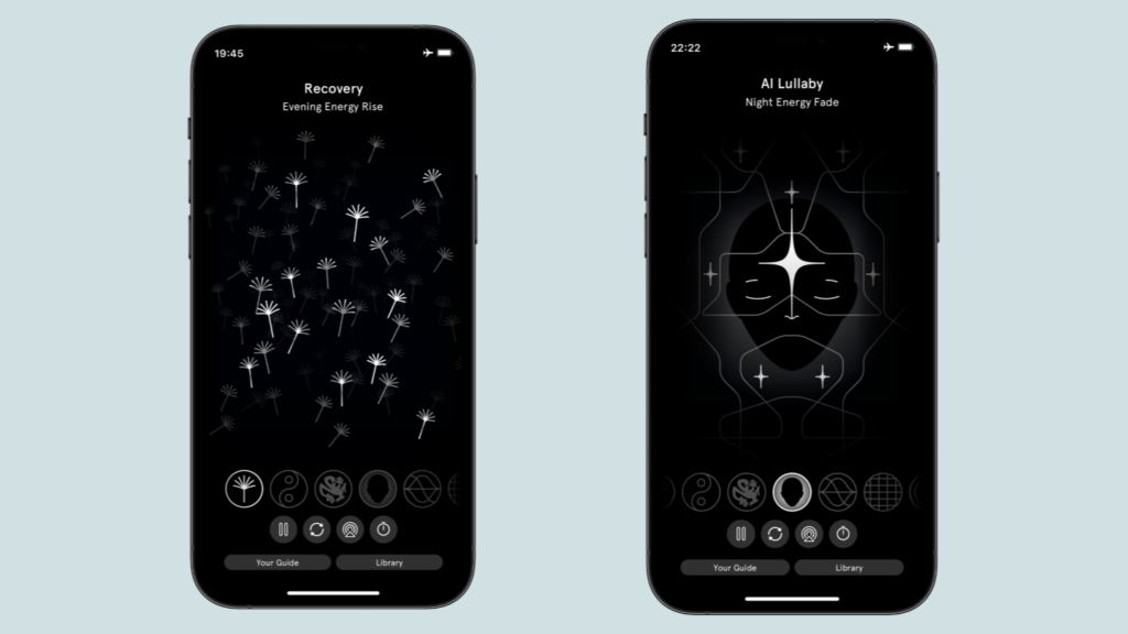 Focus, relax, and sleep with Endel - UI Screenshots